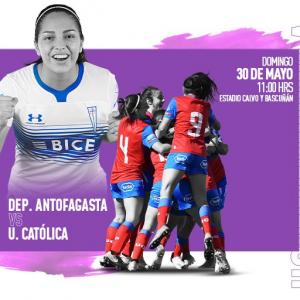 En vivo: Antofagasta vs Universidad Católica Femenina