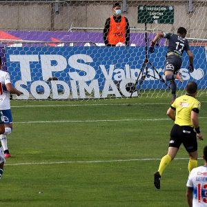 El gol del triunfo cruzado ante Santiago Wanderers en Valparaíso