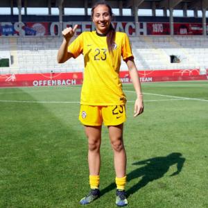 Antonia Canales será parte de la Roja Femenina que participará en los Juegos Olímpicos de Tokio 2020
