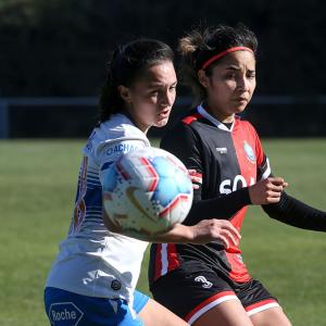 Kadzban es figura en la goleada de la Franja Femenina sobre Antofagasta