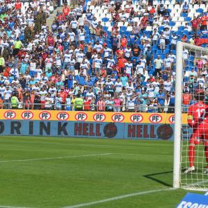 Las estadísticas de la Franja frente a Santiago Wanderers